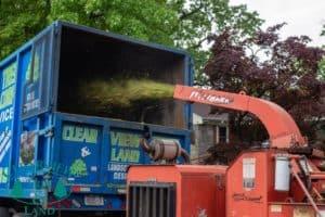 Wood Chipper Tree Truck Long Island NY